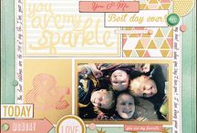 Scrapbooking - sports