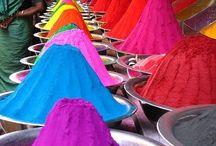 Cores como inspiração / As cores fazem parte da minha vida.