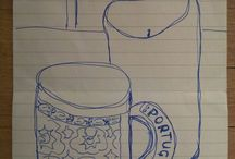 The 31 days art challenge - January 2015 / One still life piece every day for all 31 days of January 2015 / by Grace Brooks