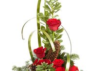 diverse bloemstukken