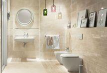 łazienka beżowa