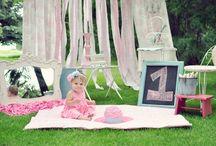 Photography - 1st Birthday  Idea's
