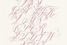 Calligraphy, Typography and pens! / by Sharon Townsend
