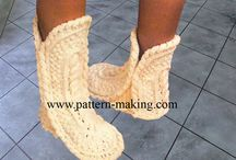 crochet shoes spats and cuffs