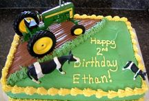 tractor cakes
