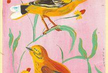 All the Little Birdies Go Tweet, Tweet, Tweet / Birds and Birdhouses and Bird Art...