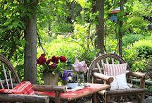 Garden: Outdoor Living Areas / by Susy Morris