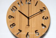 Creative Wall Clock / This board is showing our creativity.  Get update.