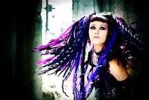 Cyber Goth... / Moodboard | inspiration | design | fashion | fabrics