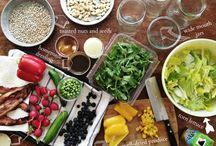 SALADS and dressings / cold salads and DIY dressings