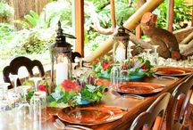 Rustic Wedding Table ideas / Ideas about how to decorate your tables