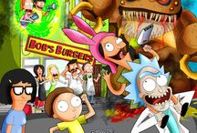 Rick and Morty/Bob's Burgers!! ✌✌❤❤♥✌♔♕