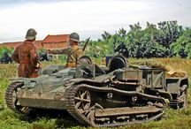 Renault UE tractors and other ww2 tankettes