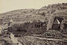Palestyna, Jerozolima. Dolina Jozafata. Absaloma Grób i Zachariasza Grób, 02 kwietnia 1862.