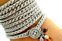 Jewelry crochet etc