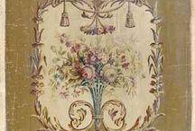 Cartons à tapisserie / gouaches anciennes