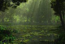 Fire City: Old Swamp / by M. K. Casperson