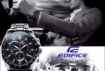 Edifice Casio / The Edifice is Casio's peak achievement in a metal analog watch, engineered to F1 standards.
