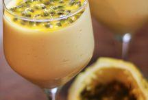 desserts passion fruit mousse