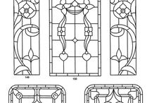 1:12 printable - stained glass