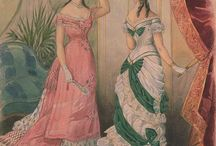 1875-1885 evening and ball gowns