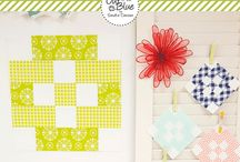 """QUILTS: 2017 Patchwork Quilt Along Big Blocks / Free monthly tutorials and downloads of the """"Big Block"""" version of 2017 Patchwork Quilt Along hosted by Fat Quarter Shop, benefitting Make-A-Wish!"""