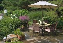 Outdoor Dining Areas / Find inspiration for creating your own outdoor dining area. For more ideas go to: http://www.landscapingnetwork.com/backyard-ideas/entertaining-dining/