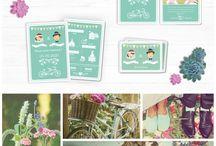 Tendances Mariages / Soyez tendance pour votre mariage !  Découvrez les différents thèmes mariage à la mode.  / by Planet Cards