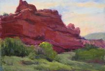 Art ... My Western Art / I love traveling out to our western states ... New Mexico, Arizona, Utah and Colorado! These are paintings I have done on location or from my photos and the plein air paintings.