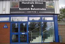 Handrails Direct & Scottish Balustrades Showroom