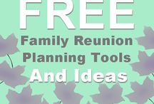 Family Reunion / How to, ideas, planning, everything we need to know  / by Cindy Redden