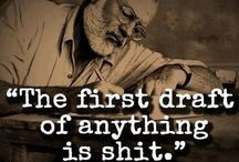 Writing Motivation Quotes / Quotes for writers, screenwriters, and filmmakers. Screenwriting | Filmmaking | Writing