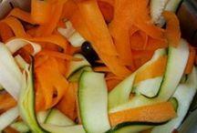 Tagliatelles de légumes au companion
