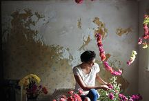 The Flower Vault / All that blooms may as well be gold. Inspiration via florists, flowers, Mother Nature.