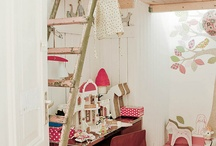 Kids rooms and ideas for prettiness / by Heather Dotson