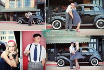 Photography - Vintage Engagement Shoot / Vintage ideas for an engagement shoot
