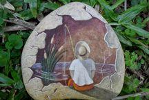 stone paintings