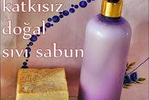 Evde Sıvı Sabun Tarifi