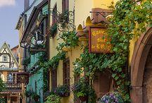 Colmar Alsace route des vins