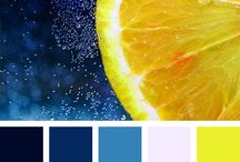 Abstract colour palettes