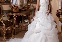 Cheap Wedding Dresses / Elaborate looking wedding gowns, but at inexpensive prices for those who cannot afford the cost of designers.