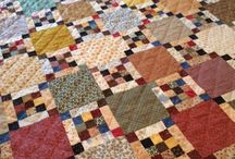 Scrappy quiltblocks