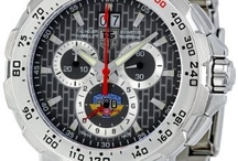 TAG Heuer Indy 500 / TAG Heuer and motor sports are long time bed fellows and here TAG Heuer pay homage to this stunning motor sport with a watch named after the amazing race. TAG Heuer have been involved with the sport since back in 20004, they are official time keeper of the Indy Racing League (IRL) and measure time to a level of detail that is 1/10,00th of a second in accuracy. / by Watch fan Watches.com