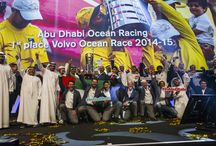 Volvo Ocean Racing 2015/2016 / Abu Dhabi Ocean Racing know how to end a race in style! Congratulations to the whole team for completing an astonishing triple victory in the Volvo Ocean Race in Gothenburg, Sweden. Capture the essence of the milestone journey through this  / by Visit Abu Dhabi