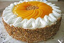 Pfirsich-Quark Kuchen