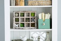 Shelving decor / by Jennifer C