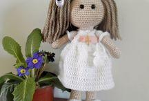 poupées crochet
