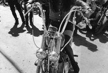 Biker girls and tattoos