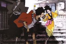 [aes|anim] samurai champloo / searching for sunflower-scented samurai