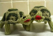 crochet turtles / by Claudette Close